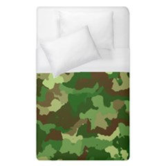 Camouflage Green Duvet Cover Single Side (single Size)