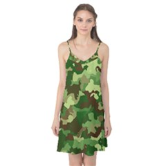 Camouflage Green Camis Nightgown