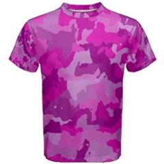 Camouflage Hot Pink Men s Cotton Tees