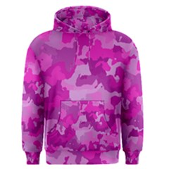 Camouflage Hot Pink Men s Pullover Hoodies