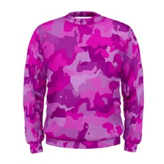 Camouflage Hot Pink Men s Sweatshirts
