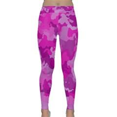 Camouflage Hot Pink Yoga Leggings