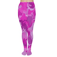 Camouflage Hot Pink Women s Tights