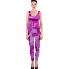 Camouflage Hot Pink OnePiece Catsuits