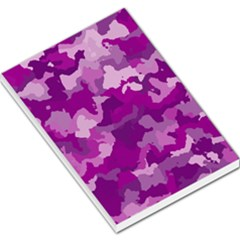 Camouflage Purple Large Memo Pads