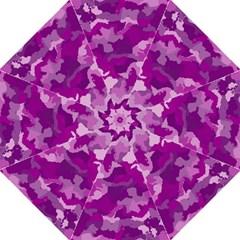 Camouflage Purple Hook Handle Umbrellas (medium)