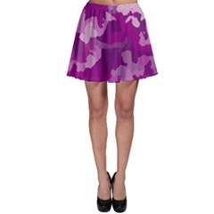 Camouflage Purple Skater Skirts