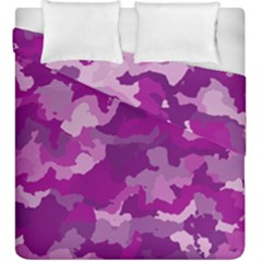 Camouflage Purple Duvet Cover (king Size)