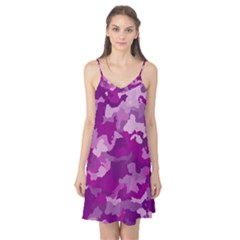 Camouflage Purple Camis Nightgown