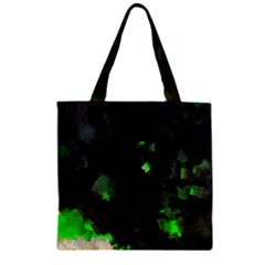 Space Like No.7 Zipper Grocery Tote Bags