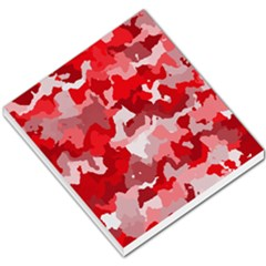Camouflage Red Small Memo Pads