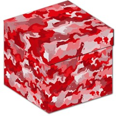 Camouflage Red Storage Stool 12