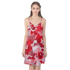 Camouflage Red Camis Nightgown