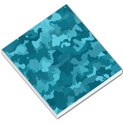 Camouflage Teal Small Memo Pads