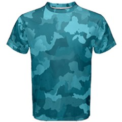 Camouflage Teal Men s Cotton Tees