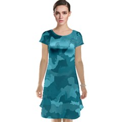 Camouflage Teal Cap Sleeve Nightdresses