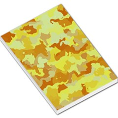Camouflage Yellow Large Memo Pads