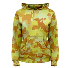 Camouflage Yellow Women s Pullover Hoodies