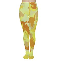 Camouflage Yellow Women s Tights