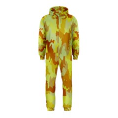 Camouflage Yellow Hooded Jumpsuit (Kids)