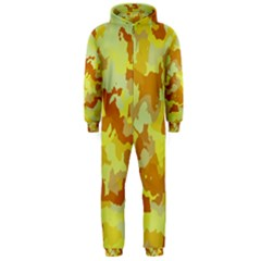 Camouflage Yellow Hooded Jumpsuit (Men)