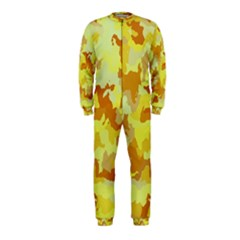 Camouflage Yellow OnePiece Jumpsuit (Kids)