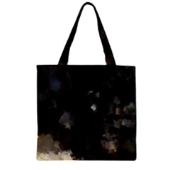Space Like No.8 Zipper Grocery Tote Bags