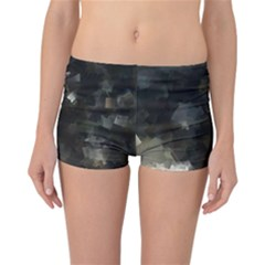 Space Like No.8 Reversible Boyleg Bikini Bottoms