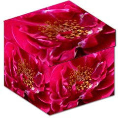 Red Rose Storage Stool 12