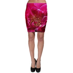 Red Rose Bodycon Skirts