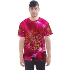 Red Rose Men s Sport Mesh Tees