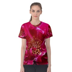 Red Rose Women s Cotton Tees