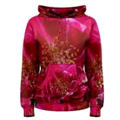 Red Rose Women s Pullover Hoodies