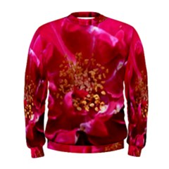 Red Rose Men s Sweatshirts