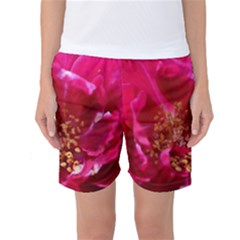 Red Rose Women s Basketball Shorts