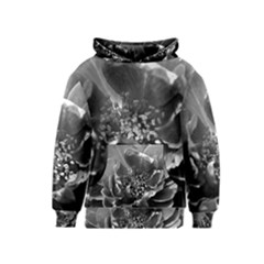 Black and White Rose Kid s Pullover Hoodies