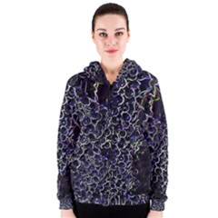 Grapes Women s Zipper Hoodies