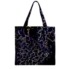 Grapes Zipper Grocery Tote Bags