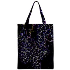 Grapes Zipper Classic Tote Bags