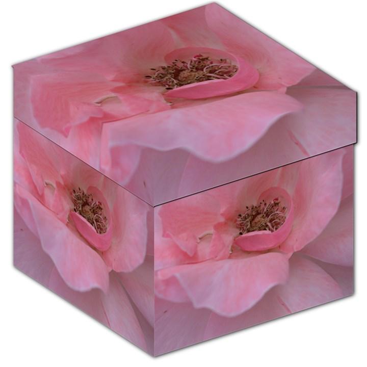 Pink Rose Storage Stool 12