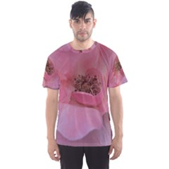 Pink Rose Men s Sport Mesh Tees