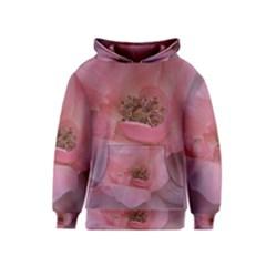 Pink Rose Kid s Pullover Hoodies