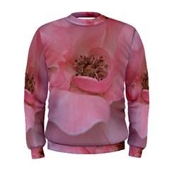 Pink Rose Men s Sweatshirts