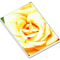 Orange Yellow Rose Large Memo Pads