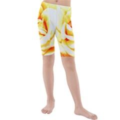 Orange Yellow Rose Kid s swimwear