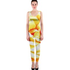 Orange Yellow Rose OnePiece Catsuits