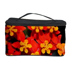 Orange And Red Weed Cosmetic Storage Cases