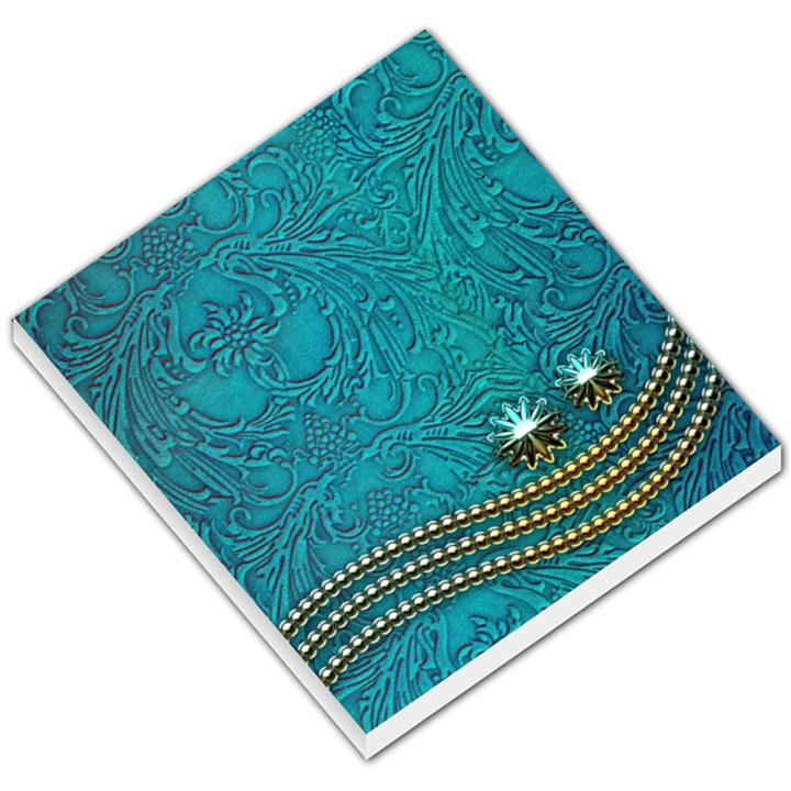 Wonderful Decorative Design With Floral Elements Small Memo Pads