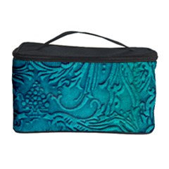 Wonderful Decorative Design With Floral Elements Cosmetic Storage Cases