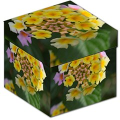 Colorful Flowers Storage Stool 12